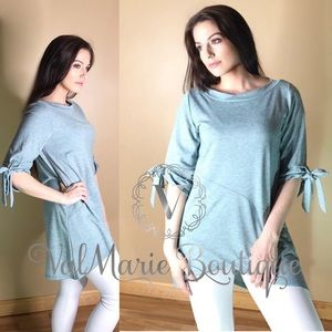 Asymmetrical Comfy Tunic Top
